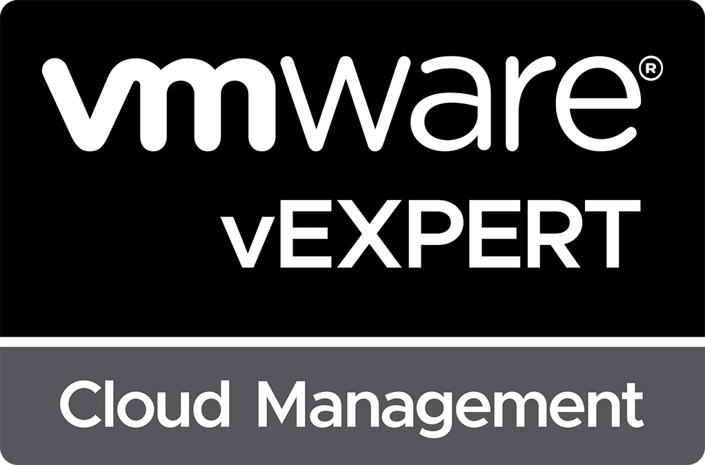vExpert Cloud Management 2020